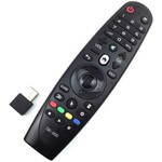 Пульт ДУ Smart TV Magic Remote SR-600 для LG Smart TV вид под углом