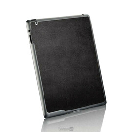 Кожанная наклейка для iPad 2/3/4 SGP Skin Guard (Black) SGP07593, фото