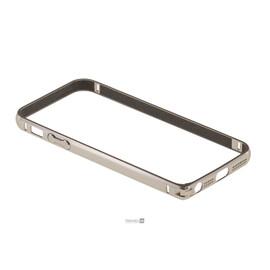 Бампер для iPhone 5/5S/SE Colorful Skin Ultra Thin Hard Shell Air Case (White Gold), фото