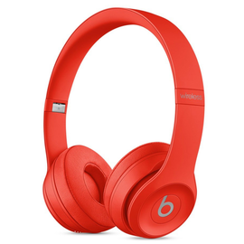 Наушники Beats by Dr. Dre Solo3 Wireless PRODUCT RED (MP162) вид под углом
