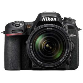Зеркальный фотоаппарат Nikon D7500 body вид спереди