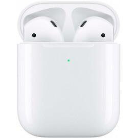 Наушники Apple AirPods 2 with Wireless Charging Case (Беспроводная зарядка) вид спереди