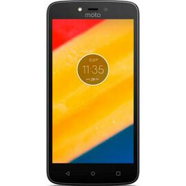 Смартфон Motorola Moto C Plus XT1723 16GB Starry Black (PA800125UA) вид спереди