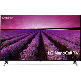 Телевизор LG 55SM8500 вид спереди