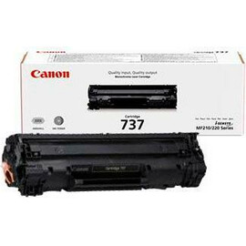 Лазерный картридж Canon 737 Black (9435B002) вид с коробкой