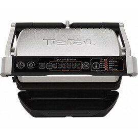 Clamping electric grill Tefal GC706D34 OptiGrill front view