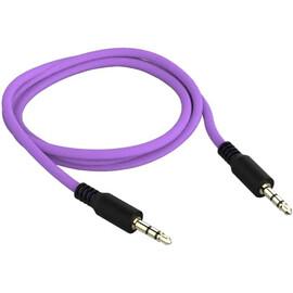 Кабель Color Mini-Jack to Mini-Jack (Violet), фото