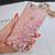 TPU чехол Liquid hearts для Apple iPhone 7/8 (Pink/Gold), фото 2