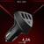 Автомобильное зарядное устройство Remax RCC-304 Alien 3USB (Black), фото 5