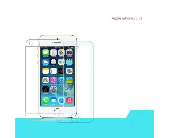 Противоударна защитная пленка iPhone 5/5S/SE Screen Protector Anti-shock front+back, фото