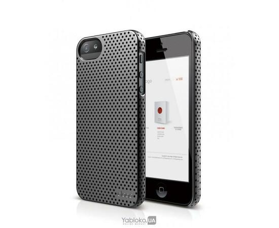 Чехол для iPhone 5/5S/SE Elago S5 Breathe Case (Metallic Dark Gray), фото