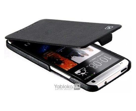 Чехол для HTC One HOCO Leather Case (Black), фото