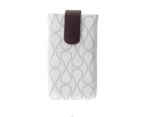 Чехол для iPhone 5/5S/SE iLuv Parasol Smart Cover Up (White), фото