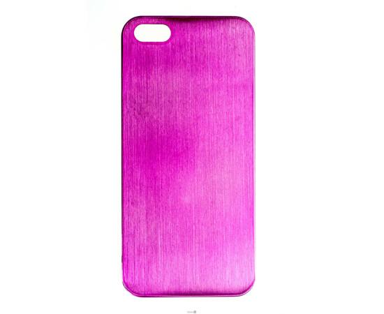 Чехол для iPhone 5/5S/SE Brushed Aluminum Case Slim Series 0.3 mm (Pink), фото
