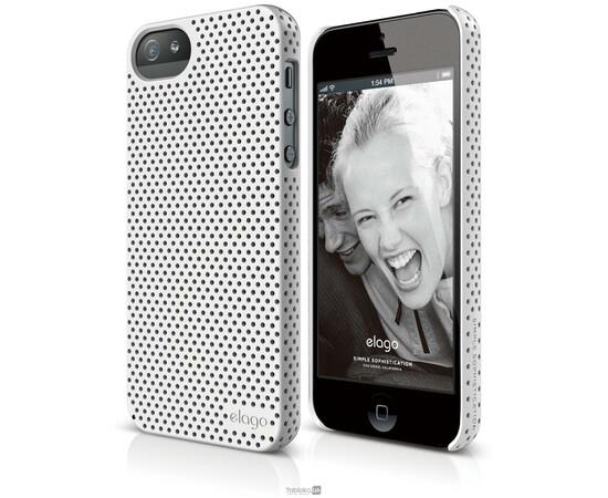 Чехол для iPhone 5/5S/SE Elago S5 Breathe Case (White), фото