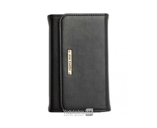 Чехол для iPhone 4/4S SGP Leather Case Ava Karen Black (SGP08523), фото
