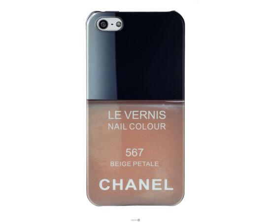 Чехол для iPhone 5/5S/SE Chanel Le Vernis Nail Colour №567 (Beige Petale), фото
