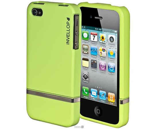 Чехол для iPhone 5/5S/SE Invellop slider Case Hard Cover Bumper (Green), фото
