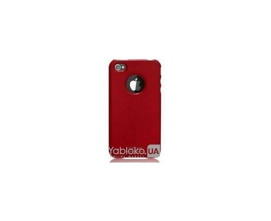 Чехол для iPhone 4/4S SGP Case Ultra Thin UV Crystal (Soul Red), фото
