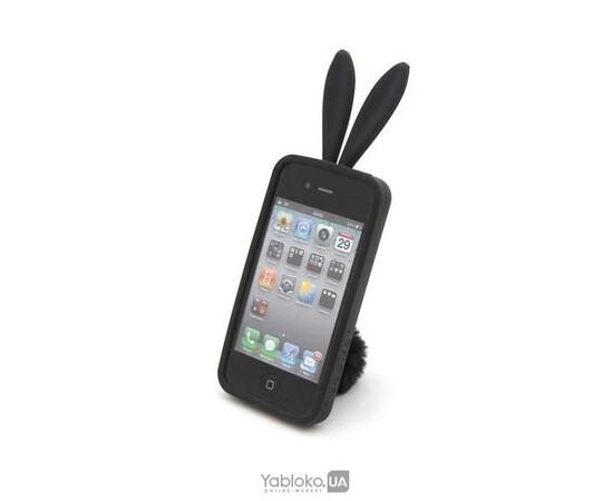Чехол для iPhone 4/4S Rabito (Black), фото