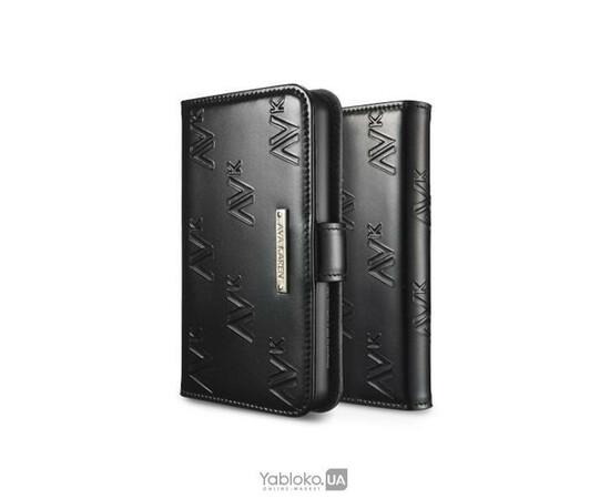 Чехол для iPhone 4/4S SGP Leather Case Ava Karen Series (Enamel Black), фото