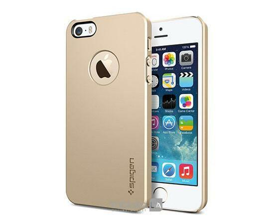 Чехол для iPhone 4/4S SGP Case Ultra Thin UV Crystal (Soul Gold), фото