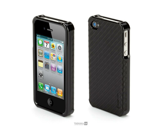 Чехол для iPhone 4/4S Griffin Elan Form Graphite (Black), фото