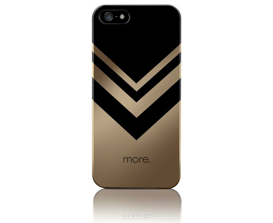 Чехол для iPhone 5/5S/SE More Vertex Metallic (Jess/Rose Gold), фото