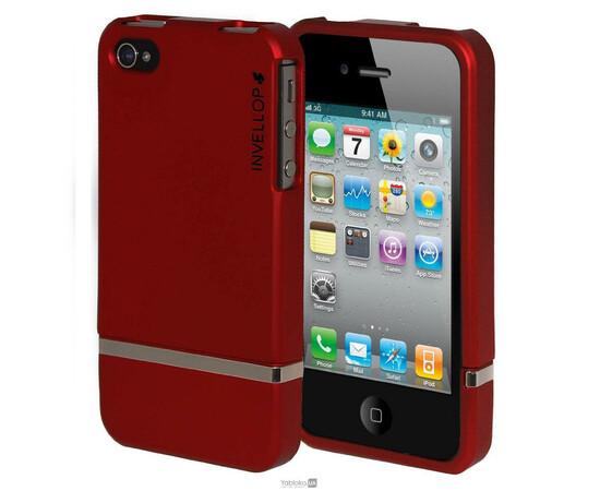 Чехол для iPhone 4/4s Invellop slider Case Hard Cover Bumper (Red), фото