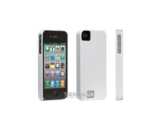 Чехол для iPhone 4/4S Case-Mate Barely There (White), фото