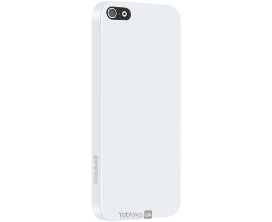 Чехол для iPhone 5/5S Ozaki O!coat 0.3 Solid White (OC530WH), фото