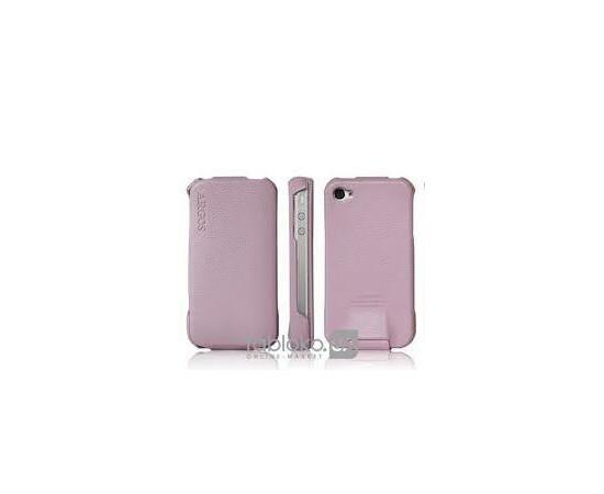 Чехол для iPhone 4/4S SGP Leather Case Argos SGP06830(Pink), фото
