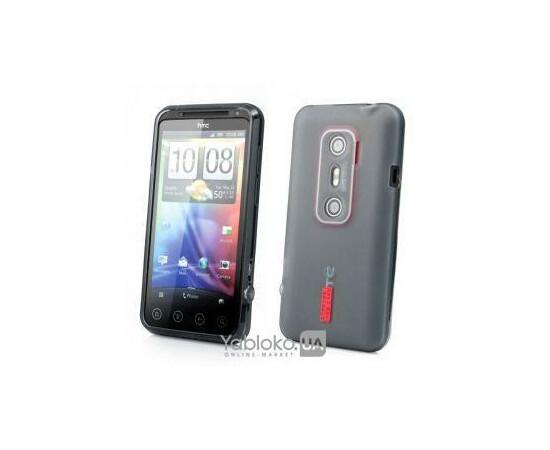 Чехол для HTC EVO 3D X515m Capdase Xpose Ultra Slim&Soft-to-Touch (Grey), фото