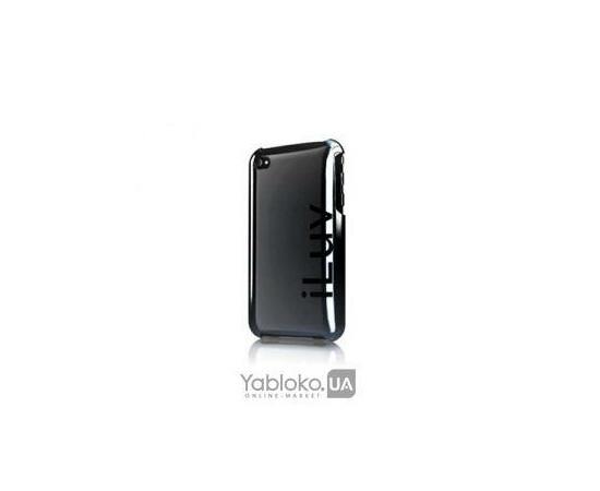 Чехол для iPhone 4/4S iLuv Sentinel Metallic Case (Dark Chrome), фото