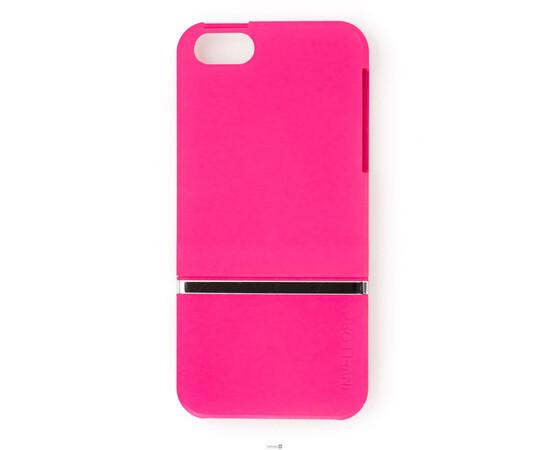 Чехол для iPhone 5/5S/SE Invellop Slider Case Hard Cover Bumper (Hot Pink), фото