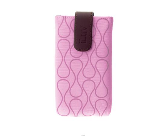 Чехол для iPhone 5/5S/SE iLuv Parasol Smart Cover Up (Pink), фото