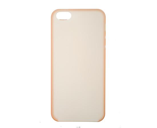 Чехол для iPhone 5/5S Colorful Slim Series 0.3 mm (Orange), фото