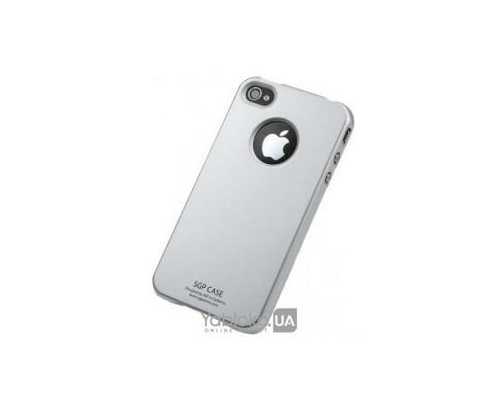 Чехол для iPhone 4/4S SGP Case Ultra Thin UV Crystal (Soul Silver), фото
