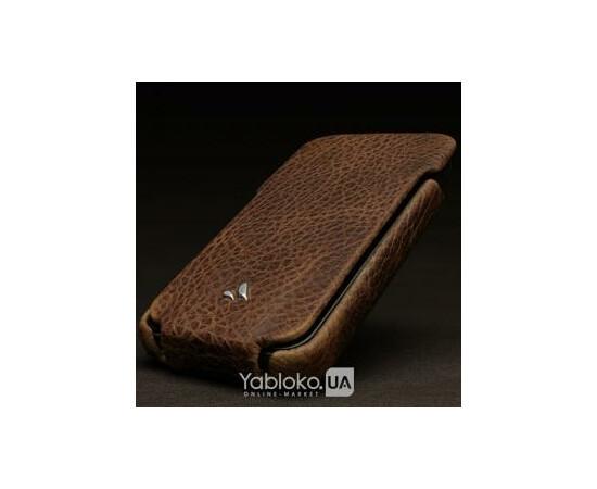 Чехол для iPhone 4/4S Vaja Ivolution Top (Dark Brown\Vib Orange), фото