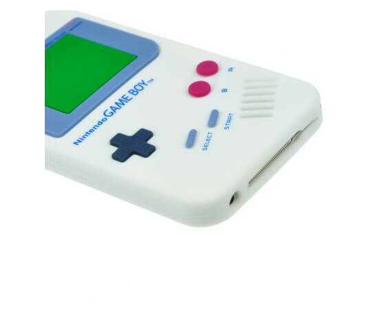 Чехол для iPhone 4 Nintendo Game Boy (Blue), фото