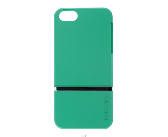 Чехол для iPhone 5/5S/SE Invellop Slider Case Hard Cover Bumper (Gray-Green), фото