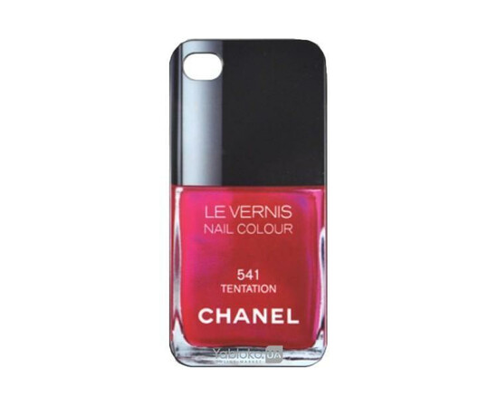 Чехол для iPhone 5/5S/SE Chanel Le Vernis Nail Colour №541, фото