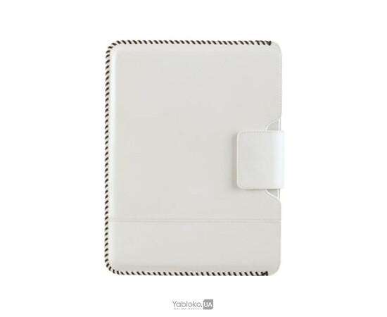 Чехол для iPad2/3/4 ZENUS Leather Case Prestige HandCraft Stitch Pouch Series (Off White), фото