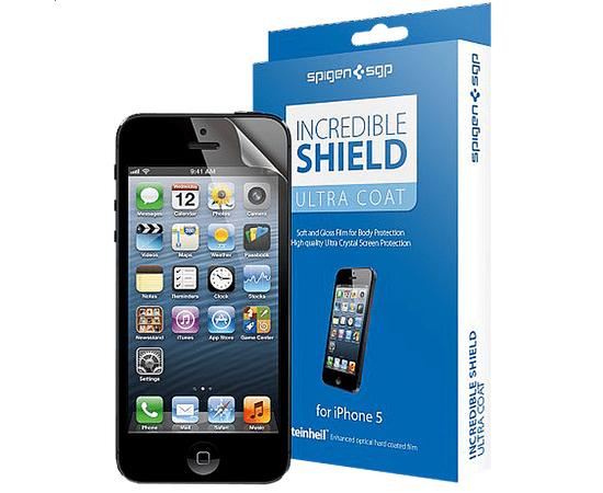 Защитная пленка для iPhone 5/5S/SE Incredible Shield Screen & Body Protection Film Set Ultra Coat, фото