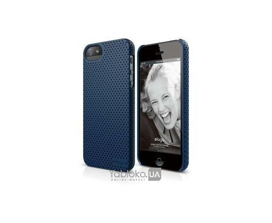 Чехол для iPhone 5/5S/SE Elago S5 Breathe Case (Soft Feeling Jean Indigo), фото