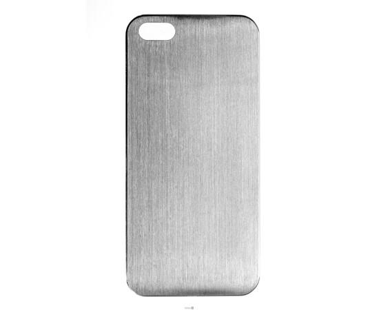Чехол для iPhone 5/5S/SE Brushed Aluminum Case Slim Series 0.3 mm (Silver), фото
