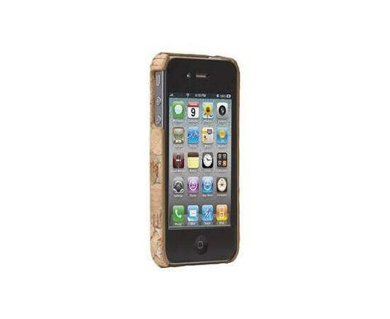 Чехол для iPhone 4/4S Case-Mate Lisboa (Cork Silver), фото