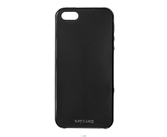 Чехол для iPhone 5/5S/SE KaysCase SoftSkin (Black), фото