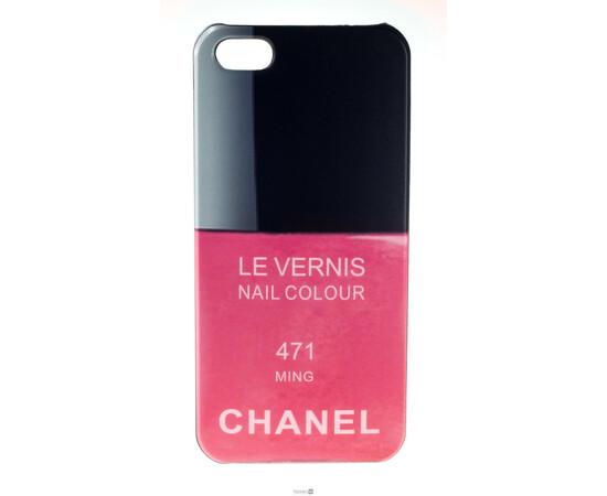 Чехол для iPhone 5/5S/SE Chanel Le Vernis Nail Colour №471 (Ming), фото