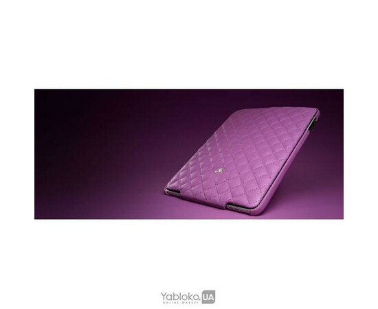 Чехол для iPad Matelasse Mulberry/White, фото